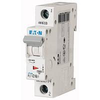 Автоматический выключатель PL4- C16/1 Moeller eaton (Германия)