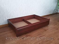 Деревянный подкроватный ящик на колесиках от производителя, фото 3