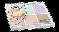 Палитра из 6 корректоров для лица Ruby Rose Color Correcting Concealer