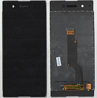 Дисплей + сенсор Sony G3112 Xperia XA1 Duall, G3116, G3121, G3125 Чорна original
