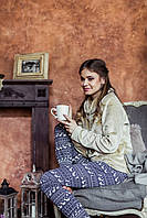 Пижама теплая женская LHS 886 от TM Key (Польша) Быстрая отправка!