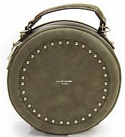 Женский клатч 3585 Хаки David Jones Женские сумки через плечо, женские клатчи