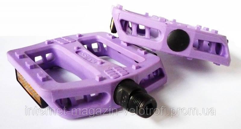 Педали пластиковые Wellgo B-107N purple