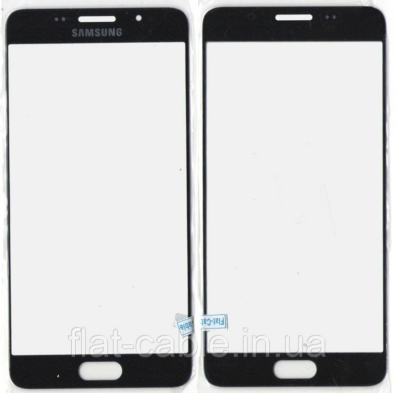 Скло Samsung A510 Black