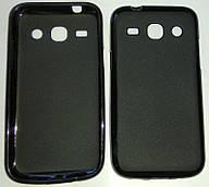 Силиконовый чехол для Samsung G350 Galaxy Star Advance Duos Черный