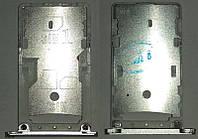 Сім лоток ( каретка) Xiaomi Redmi Note 3 , сірого кольору