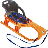 Санки Snow Tiger comfort (оранж) 29405