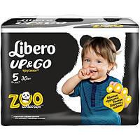 Подгузники Libero Up & Go 5 Maxi Plus 10-14 кг 30 шт N51306105