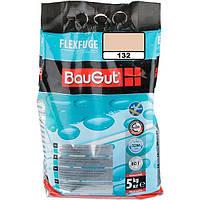 Фуга BauGut Flexfuge 132 бежевая 5 кг N60307326