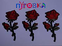 Аппликация термоклеевая 3D цветок 1527