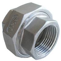 Американка внутреная/наружная нержавеющая сталь  AISI 316L
