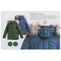 Стильная зимняя курточка на мальчика