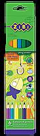 Карандаши цветные protect, 6 цветов zb.2430