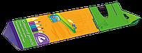 Цветные карандаши zibi zb.2407 jumbo comfort c точилкой на 12 цветов