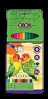 Карандаши цветные soft, 12 цветов zb.2410