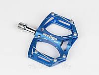 Педали алюминиевые Wellgo M194 blue