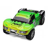 Машинка на радиоуправлении с полным приводом WL Toys A969 4WD Short Course 1:18 40 км/час зеленая