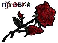 Аппликация термоклеевая 3D цветок 1533