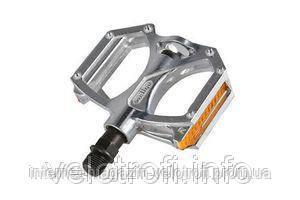 Педали алюминиевые Wellgo M195 silver