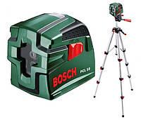 Лазерный нивелир BOSCH PCL 10 со штативом