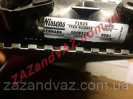 Радиатор печки отопителя 71925 MAN F Ман Ф Nissens Дания