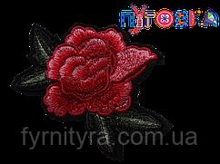 Аппликация термоклеевая 3D цветок 1538