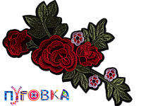 Аппликация термоклеевая 3D цветок 1545