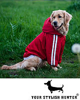 """Одежда для собак крупных пород, Куртка """"Luxurious Dog"""""""