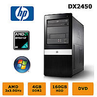 HP Compaq DX2450 - Athlon X2 6000+ 2x3.0GHz /4GB RAM /160GB HDD