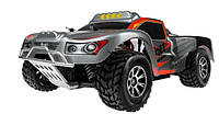 Машинка на радиоуправлении с полным приводом WL Toys A969 4WD Short Course 1:18 40 км/час серая