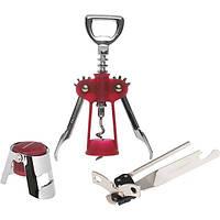 Набор для вина Fackelmann штопор+открывалка+пробка N52206639