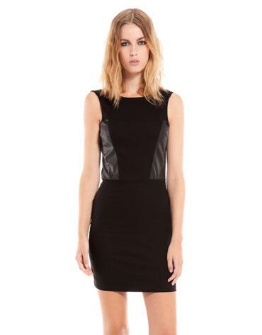 Новое короткое черное платье Bershka
