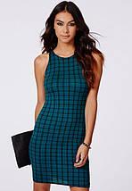 Новое облегающее платье в клетку Missguided, фото 2