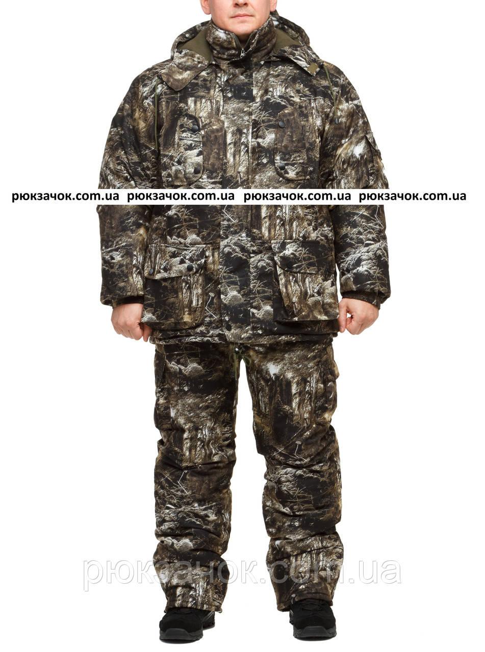 """Охотничий зимний костюм из дышащей ткани """"Стрелок"""" размер 56-58"""