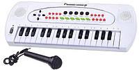 Детский синтезатор с микрофоном HS3230B, фото 1