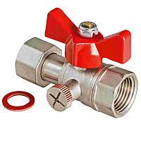 Краны для воды VALTEC Кран шар. для подкл. манометра 1/2'' VT.807.N.04