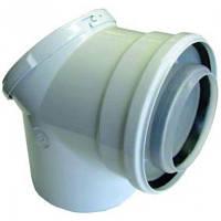 Комплектующие для котлов BUDERUS Дымоход Концентрический отвод 87°, со смотровым люком 7719003382