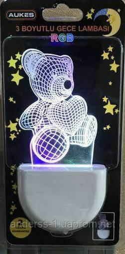 Светодиодный детский ночник