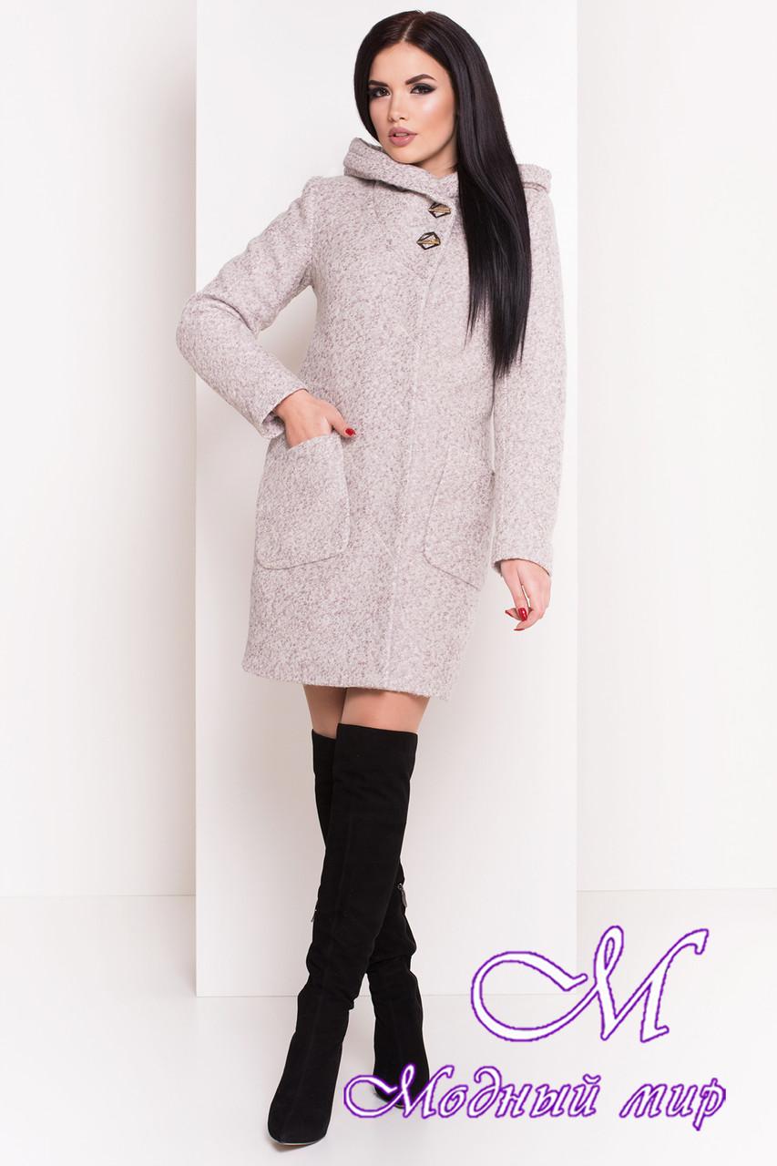 61b028e7082 Теплое зимнее женское пальто с капюшоном (р. S