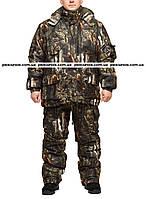"""Зимний камуфлированный костюм из мембранной ткани алова """"Медведь в лесу"""" размер 56-58"""