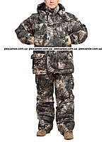 "Охотничий костюм на зиму, из нешуршащей, дышащей ткани ""Сокол"" размер 60-62, фото 1"