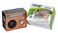 Радиоприёмник с USB NNS NS-1361S с солнечной батареей