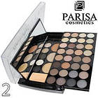 Палетка для макияжа Parisa Cosmetics PK-40 № 02 п натурально коричневый-серый микс, фото 6