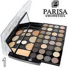 Палетка для макияжа Parisa Cosmetics PK-40 № 02 п натурально коричневый-серый микс, фото 5