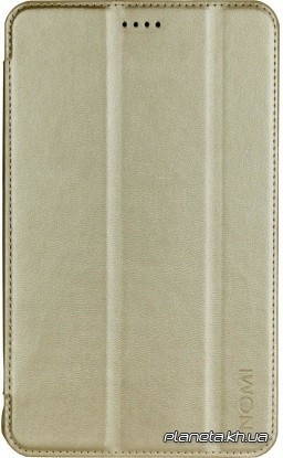 Чехол, сумка Nomi Чехол для планшета Slim PU case Nomi С070010/С070020 gold