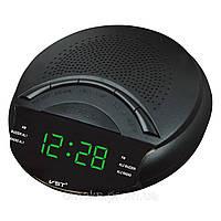 Радио-будильник VST 903-4, LED-дисплей с синими цифрами, фото 1