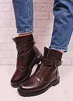 Женские зимние ботинки низком ходу