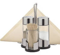 Комплект для специй с салфетником на три баночки CLUB TESCOMA 650332