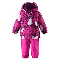 Комплект (куртка + брюки на подтяжках) для девочки Reima Misteli 513100-4901