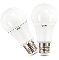 Лампа LED Gauss Elementary A60 12W E27 2700K 2 шт. N30528832